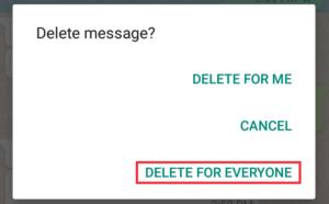 7 मिनिट बाद भी भेजे हुए Whatsapp मैसेज को delete कैसे करे