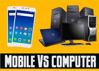 Smartphone vs pc in hindi