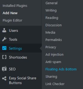 Blog (Website) मे Floating bottom ads कैसे लगाए