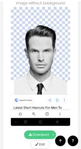 1 Click मे Mobile से Photo का background कैसे बदले