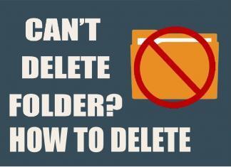 Folder Kaise DELETE kare