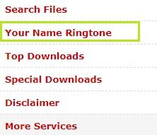 Your Name Ringtone In Hindi