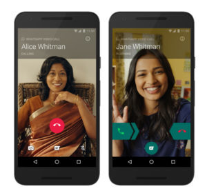 android whatsapp Video Calling
