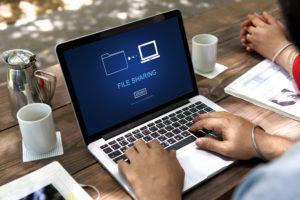 File sharing and uploading