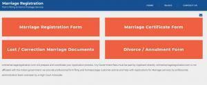 विवाह प्रमाणपत्र