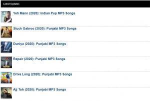 Downloadming 2020 Website - Free Hindi Bollywood MP3 Songs Download
