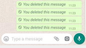 Whatsapp Delete Message Kaise Dekhe | 3 आसान तरीके