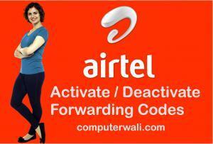 Airtel call forwarding in Hindi